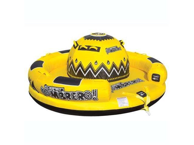 OBrien Inflatable 4 Person Sombrero Towable Boat Water Tube, Yellow -  Newegg com