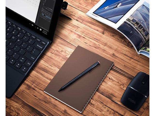 Yoga 520 Replace Pen Tips Included 900s and More Flex 15 Miix Lenovo Active Pen up to 4096 Sensitivity for Touchscreen Laptop for Lenovo 300e 720