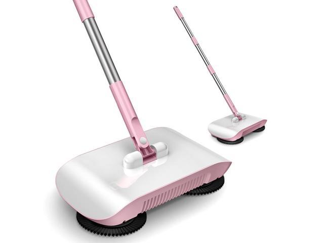 2 in 1 Hand Push Home Sweeper Broom Dustpan Set Vacuum Cleaner - Newegg com