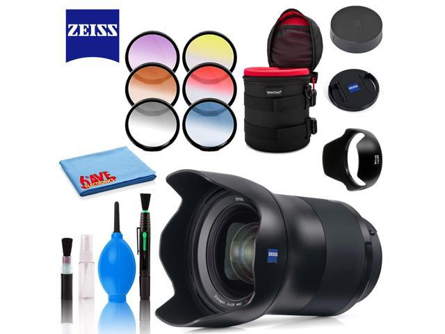 Zeiss Milvus 25mm f/1 4 ZF 2 Lens for Nikon F with Cleaning Kit, Filters,  and Padded Case - Newegg com