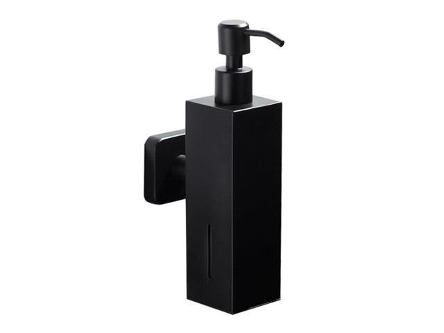 Stainless Steel Kitchen Hand Pump Liquid Soap Dispenser Emulsion Detergent  Bottle Bathroom Hardware Hand Sanitizer