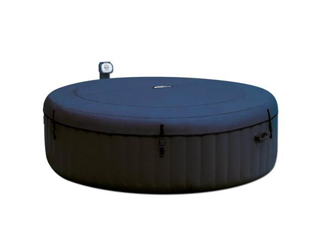 Intex Pure Spa Inflatable 6 Person Outdoor Bubble Hot Tub And 2