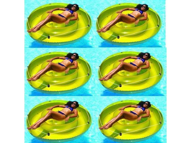 Swimline Inflatable Swimming Pool Hawaiian Cabana Shirt Float Lounger 2 Pack