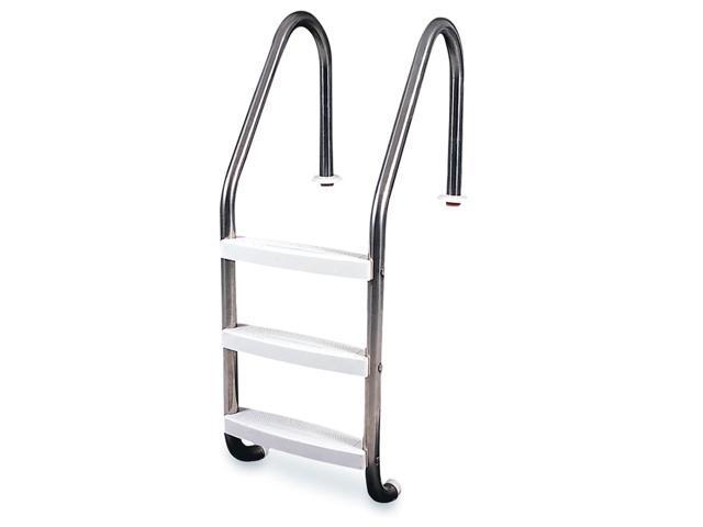 Swimline Hydrotools 3 Step Inground Swimming Pool Stainless Steel Ladder  Steps - Newegg.com