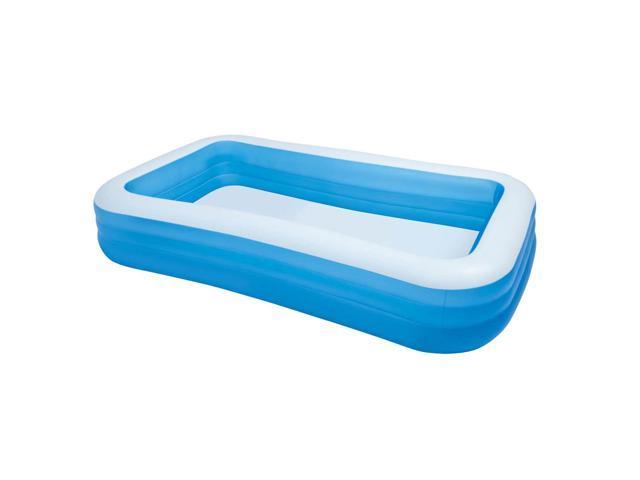 Intex 10ft x 2in Swim Center Family Backyard Inflatable Kiddie Swimming  Pool - Newegg.com