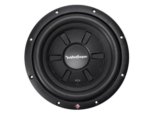 Rockford Fosgate R2 10 Inch Max Car Shallow Slim Subwoofer Audio Power Newegg Com