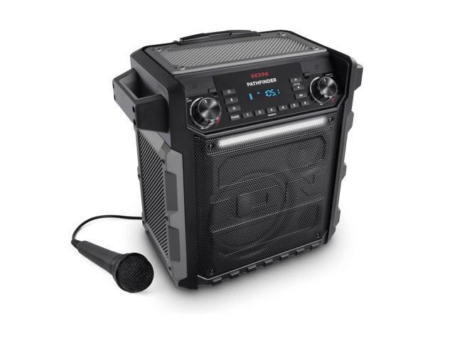 ION Audio Pathfinder Bluetooth Speaker with AM/FM Radio & Microphone