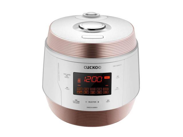 Cuckoo 8-in-1 Multi Electric Pressure Cooker ICOOK Q5 PREMIUM - Pressure Cooker, Slow Cooker, Rice Cooker, Browning & Frying, Steamer, Warmer, Yogurt Maker, Soup Maker