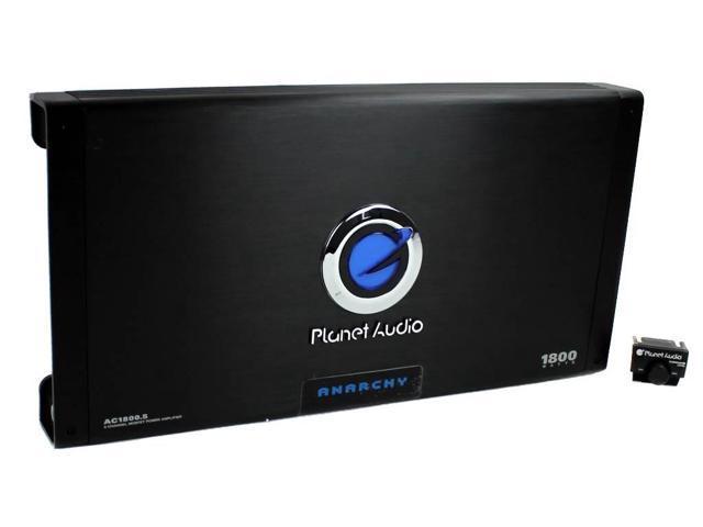 Free Shipping Planet Audio AC1200.4 ANARCHY 1200-Watt Full Range Class A//B 2 ..