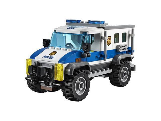 Lego City Police Bulldozer Break In Helicopter Kids Building Kit Minifigures Newegg Com