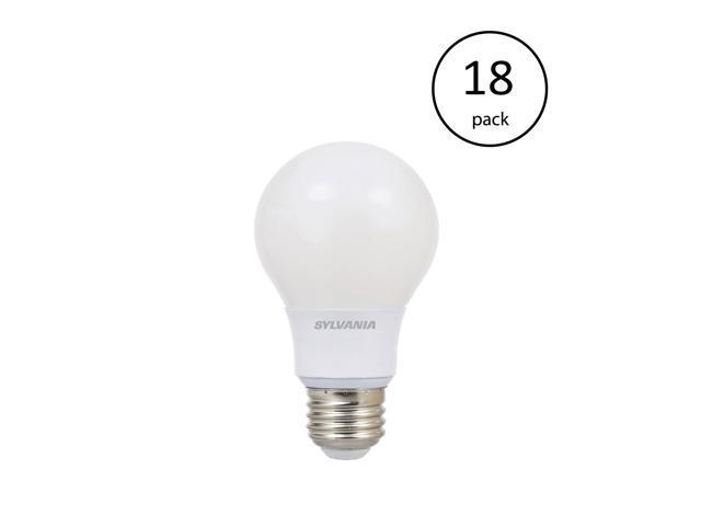 Sylvania Ultra A19 40W 120V E26 Dimmable Daylight 5000K LED Light Bulb 72 Pack