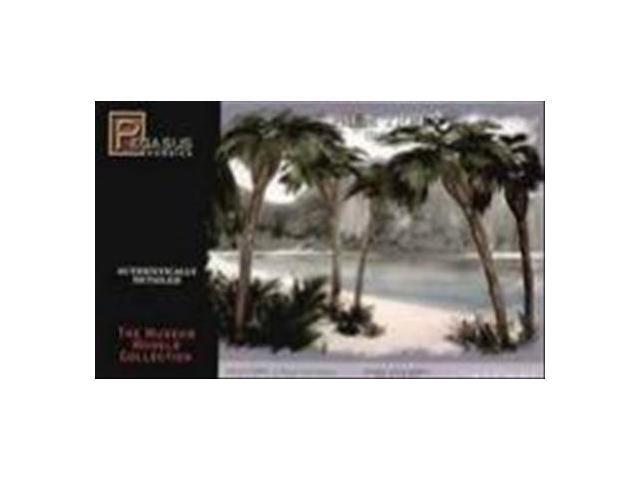 28mm Miniature Terrain: Small Palm Trees Style A (5) - Newegg com