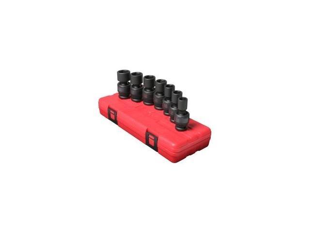 TEKTON 4883 1//2-Inch Drive Deep Impact Socket Set Cr-V 15 Soc Metric 10-24mm