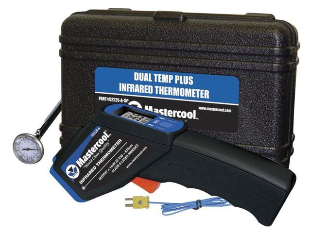 Mastercool 52225A-SP Dual Temp Infrared Thermometer / Immersion Probe /  1-inch T - Newegg com