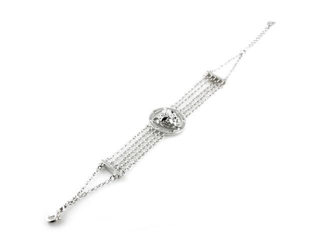 Swarovski Elements Crystal Leopard Bracelet Charm - Newegg com