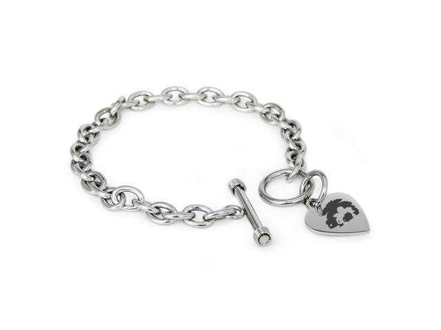 81fc91e8c Stainless Steel Bulbasaur Ivysaur Venusaur Pokémon Heart Charm Bracelet