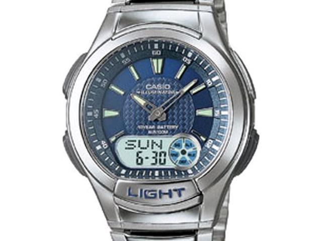 Men's Casio Ana-Digital 30 DataBank Watch AQ180WD-2AV AQ180WD-2A