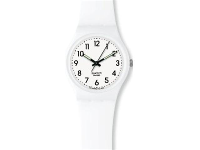 Swatch Just White Watch Gw151
