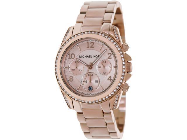 Michael Kors Women's MK5263 Blair Rose Gold Tone Watch