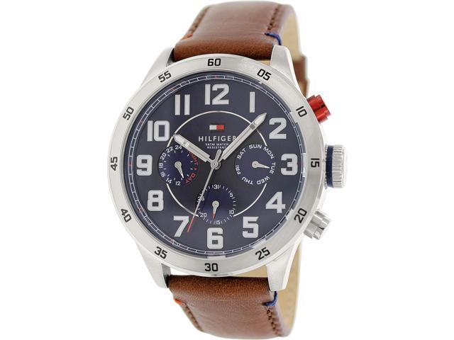 e911a3255 Tommy Hilfiger Analog Blue Dial Men's Watch 1791066 - Newegg.com