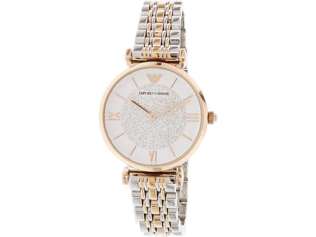Emporio Armani Women's Retro AR1926 Rose Gold Stainless-Steel Quartz Watch