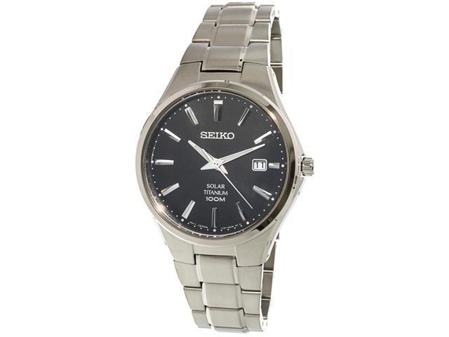 Mans watch SEIKO SOLAR SNE377P1 - Newegg com