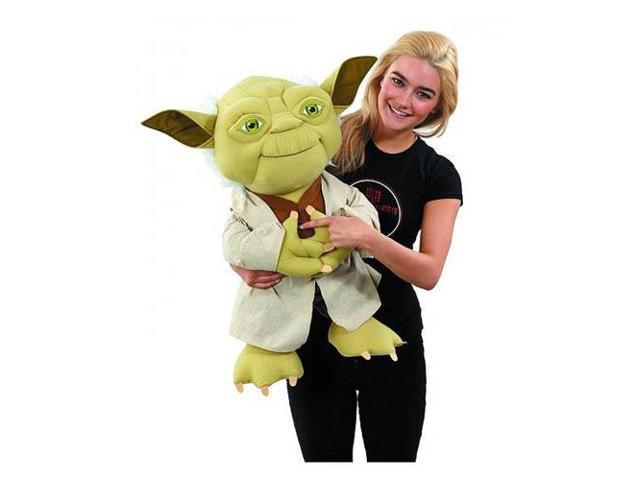 Star Wars Super Deluxe 24-Inch Yoda Talking Plush - Newegg com