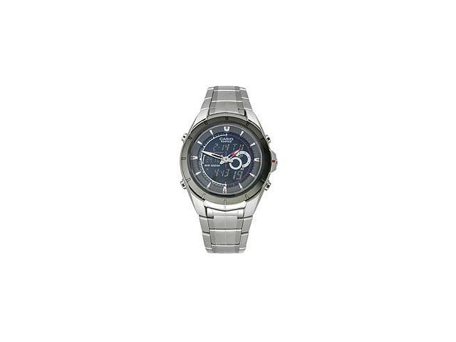 c31959377 Casio Men's Ana-Digi Edifice Stainless Steel Watch EFA119BK-1AV ...