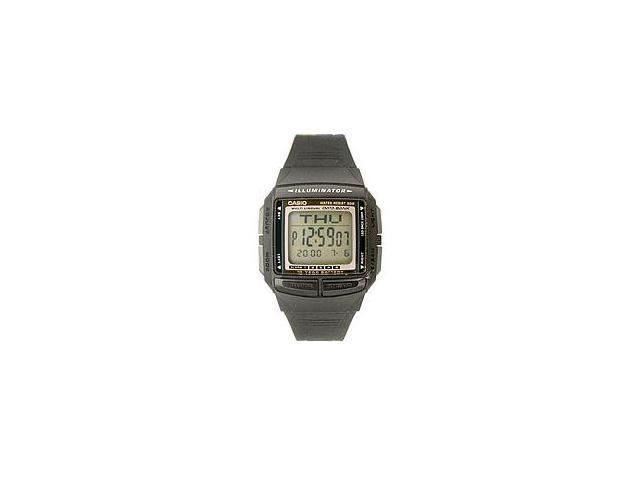 Casio DB36-1AV Casual Men's Multi-Lingual Databank Digital Sports Watch - Black