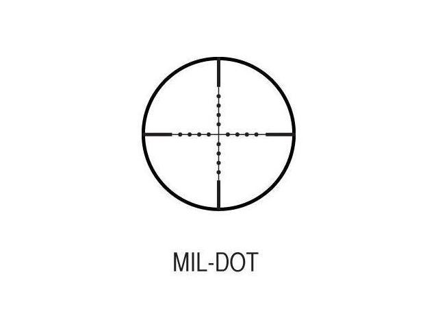 AIM SPORTs 4x32 Compact Scope Mil-dot Reticle w// Rings and Len Cover JTM432B