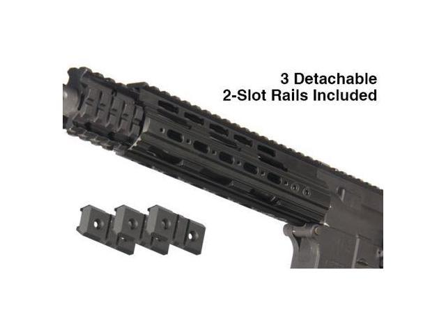 UTG PRO AR15 Carbine 7 in  Super Slim Free Float Handguard with Single  Extended - Newegg com