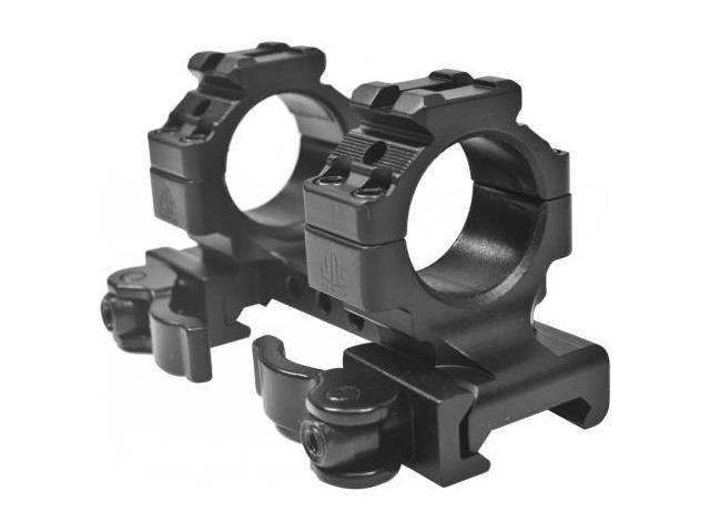 Leapers UTG Integral QD 1in Ring 2 Slot 35mm High 70mm Picatinny Mount  M1B35070R - Newegg com