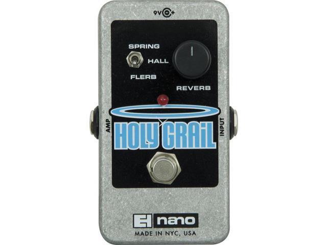 Electro-Harmonix Nano Holy Grail Digital Reverb - Newegg com