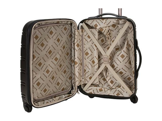 e6e13d27b Rockland Luggage 3 Piece Carnival Hardside Spinner Set