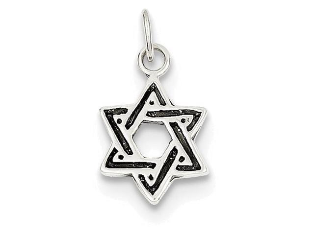 Solid Star Of David Symbol//Sign .925 Sterling Silver Ring Sizes 5-10