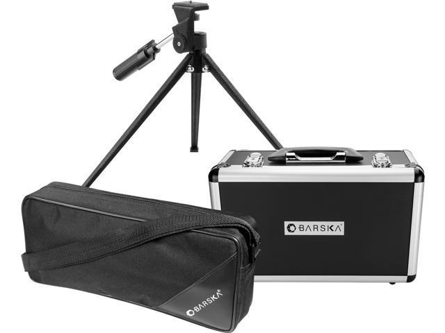 Barska 20-60x60 Blackhawk WP Straight Spotting Scope  w// Tripod /& Case AD10350
