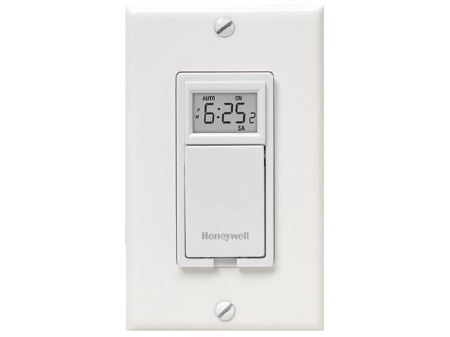 Honeywell 7 Day Programmable Switch For Lights And Motors White Newegg Com