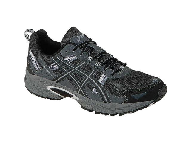 Asics 201516 Men's Gel Venture 5 Trail Running Shoe T5N3N.9099 (BlackOnyxCharcoal 11)