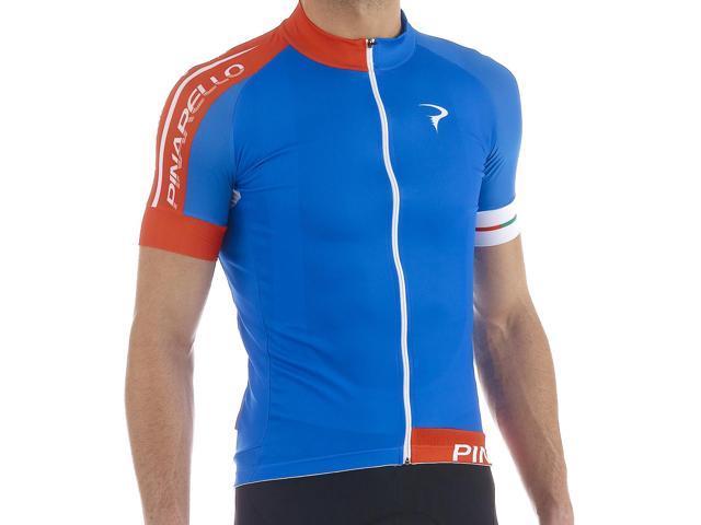 Pinarello Mens Pista Corsa Short Sleeve Cycling Jersey - PI-S5-SSJY-PIST 0bf544fe0