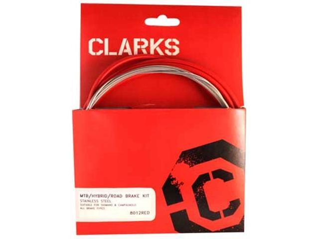 Clarks Stainless Steel Sport Brake Kit Cable Brake Clk Kit F+r Ss Spt Rd//mt Wht