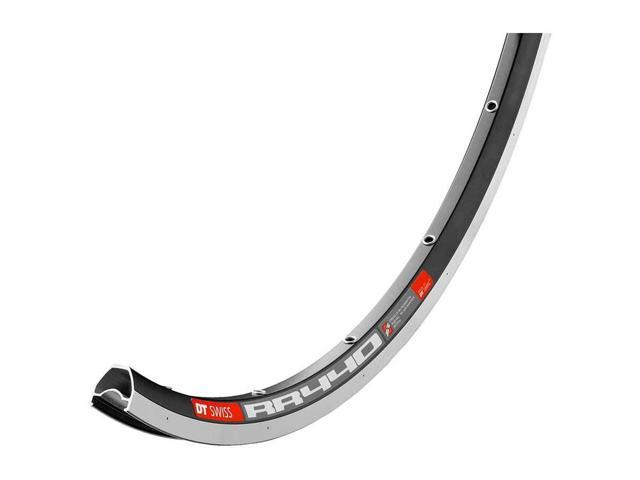 DT Swiss RR 411 700c Tubeless-Ready Asymmetric Road Rim 32h Black includes