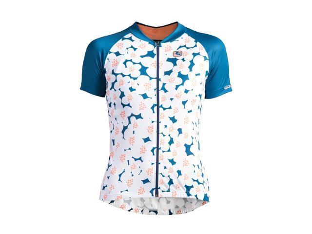 Fior Fiori.Giordana 2018 Women S Fiori Arts Short Sleeve Cycling Jersey
