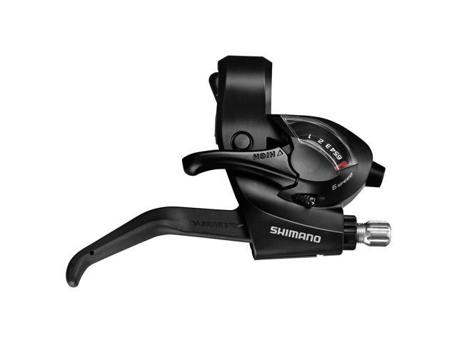 Shimano Deore 611 3-Finger Mountain Bicycle V-Brake Lever Black BL-T611