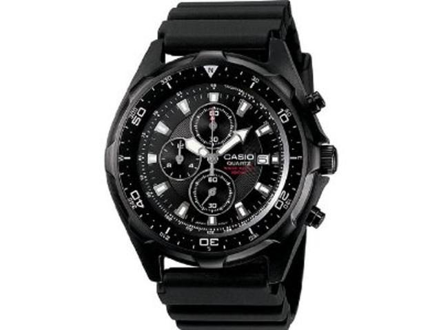 33fd9a623 Casio Mens Casio Dive Style Stainless Steel Chronograph Watch - AMW330B-1A