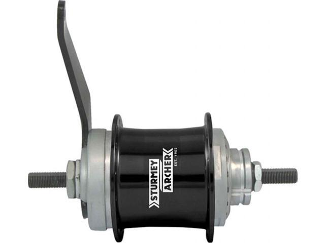 Black Sturmey Archer CS-RK3 3x9-Sp Disc Hub 32h