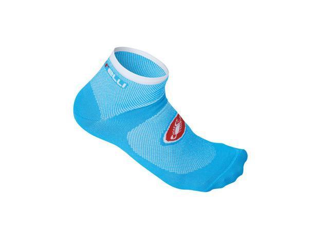 ATOLL BLUE Castelli DOLCE Womens Short Cycling Socks