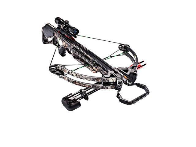 Barnett Crossbows Droptine STR Crossbow Package with 4x32 MM Scope -  Realtree Edge - Triggertec - 380 FPS - BAR78003 - Newegg com