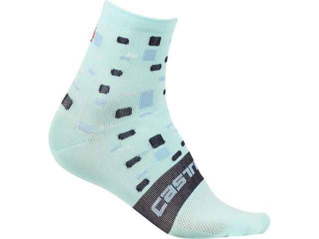 R19080 Castelli 2019 Women/'s Rosa Corsa Cycling Sock