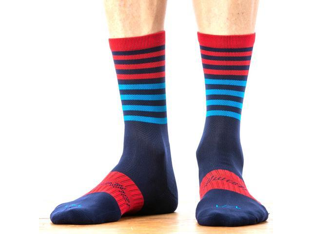 994421063-P Bellwether Fusion Sock Navy//Ferrari//Cyan