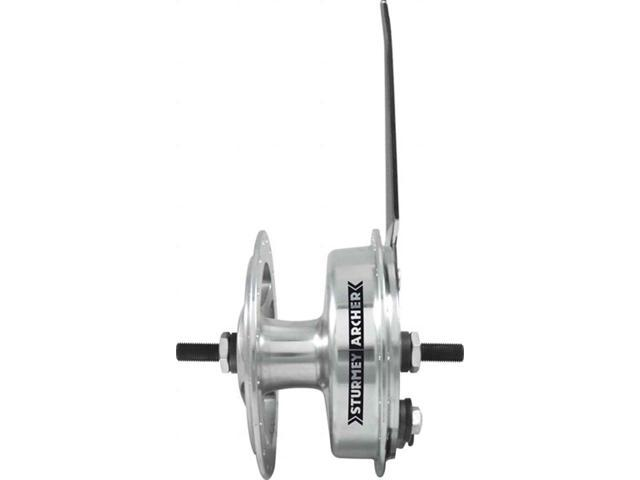 Sturmey Archer X-FD Front Drum Hub 36h Silver